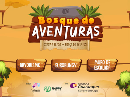 Bosque de Aventuras no Shopping Guararapes