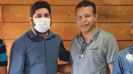Daniel Alves se reúne com o vereador Didinho