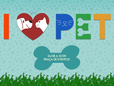 Feira I Love Pet no Guararapes até 12 de setembro