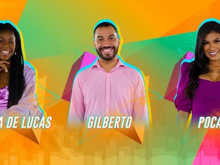 Camilla de Lucas e Gilberto também estão no 16º Paredão do BBB21