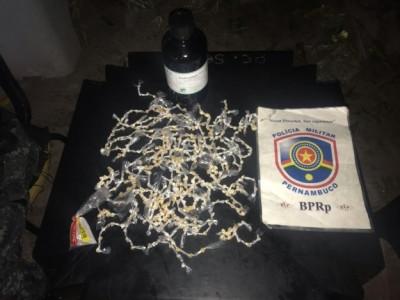 Dupla é presa por tráfico de drogas em Jardim Piedade