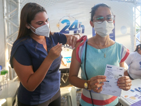 Jaboatão vacina 16.248 pessoas contra a Covid-19 em 24 horas