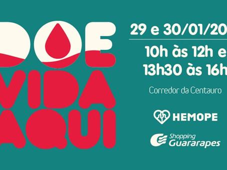 Campanha de Doação de Sangue do Hemope