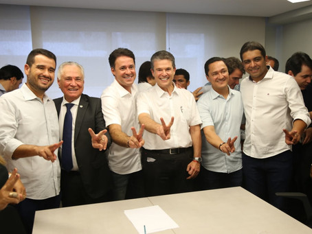Parlamentares prestigiam evento do PSD que declarou apoio à reeleição de Anderson Ferreira
