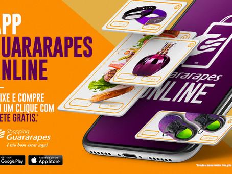 Shopping Guararapes lança aplicativo de compra com frete grátis