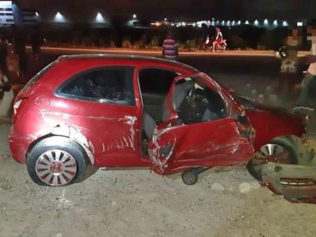 Duas jovens morreram em acidente de trânsito no km 79 da BR-101