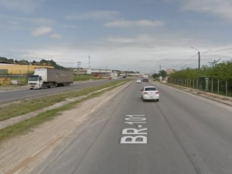 Jaboatão: homem morre atropelado por caminhão na BR-101
