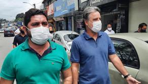 Deputado federal Raul Henry participa de agenda com Daniel Alves em Jaboatão