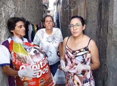 Militantes da Causa Animal mobilizam doação de rações para os abrigos de Jaboatão