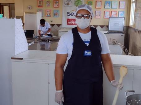 Pró-Criança estreia curso gratuito de culinária em Jaboatão