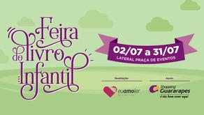 Feira do Livro Infantil no Guararapes até 31 de julho