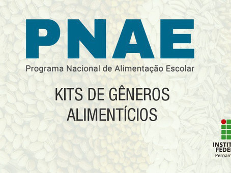 Campus Jaboatão inscreve estudantes para recebimento de kits alimentícios