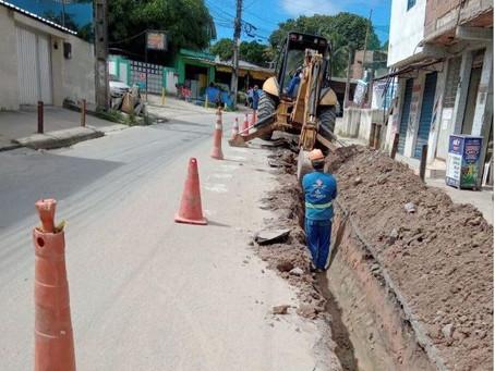 Compesa investe R$ 670 mil em obras no entorno de Jaboatão Centro