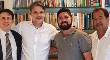 Eleições 2020: Daniel Alves se reúne com Raul Henry