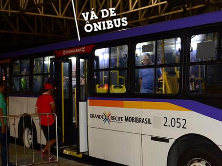 Grande Recife reforça linhas de ônibus que passam pelo Morro da Conceição