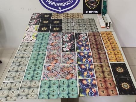 Homem é preso em flagrante com 26 mil micropontos de LSD no Recife