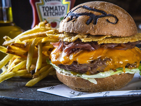 Festival de Comida Ogra e Burger Cult até 2 de junho