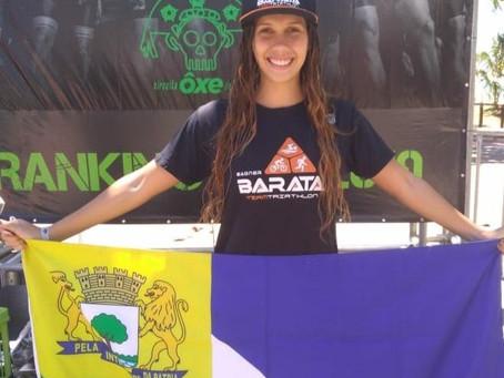 Carolline Gomes se consagra campeã do Circuito  Ôxe Triatlo