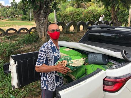 Prefeitura distribui sementes de milho para famílias de assentamentos rurais do Jaboatão