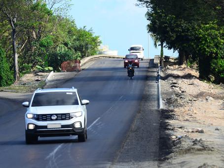 Liberado tráfego em trecho do viaduto da BR-101, em Jaboatão