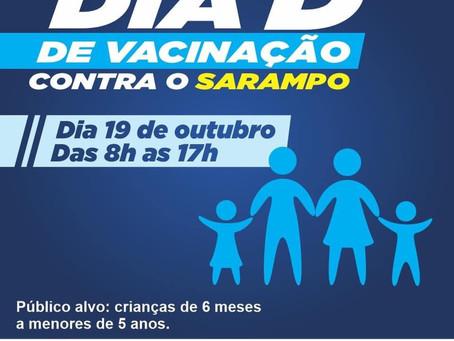 Dia D contra o sarampo em Jaboatão