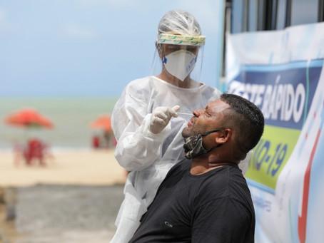 Jaboatão inicia ação de testagem em massa da população contra a Covid-19