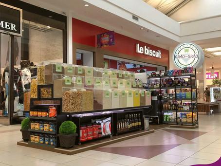 Inaugurado no Shopping Guararapes o quiosque Grão em Grão