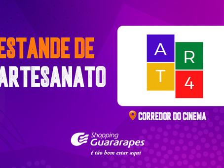 Estande de Artesanato no Shopping Guararapes