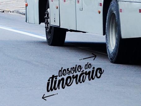Alteração de itineráriona Linha 240 - Cavaleiro /Ceasa