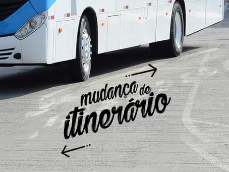 Linha do Jordão Baixo muda itinerário e paradas nos atendimentos à Rua Xingu