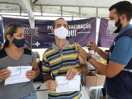 JABOATÃO INICIA VACINAÇÃO CONTRA COVID-19 DE PESSOAS COM 45 ANOS OU MAIS