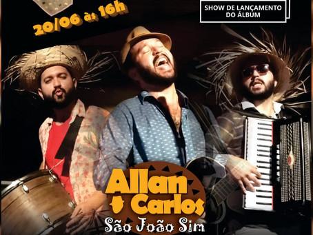 """Allan Carlos lança o EP """"São João Sim"""""""