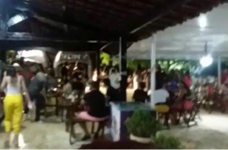 Grupo promoveu festa clandestina em Jaboatão e responsáveis são multados