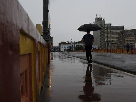 Apac: alerta de chuvas moderadas a fortes em Pernambuco