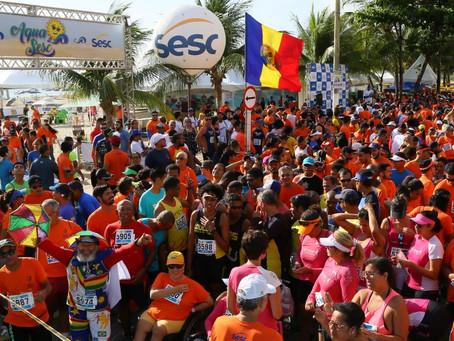 AquaSesc com atividades em Jaboatão