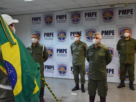 Solenidades marcam passagens de comandos em unidades da PMPE