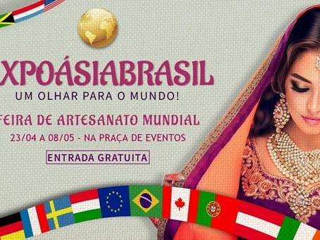 Feira de artesanato internacional segue até 8 de maio em Piedade