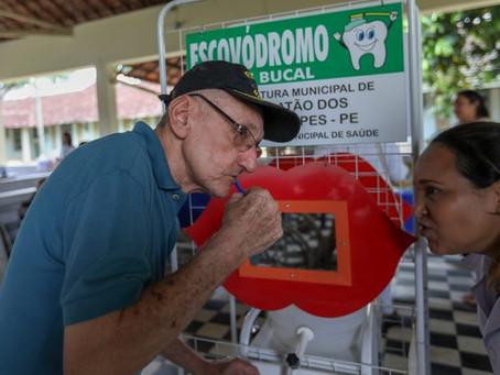 Mutirão de saúde para os idosos do Abrigo Cristo Redentor