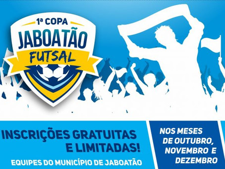 Prefeitura abre inscrições para 1ª Copa Jaboatão de Futsal