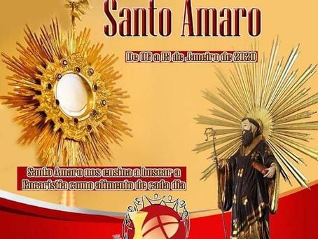 Festa de Santo Amaro começa a partir desta segunda (06)