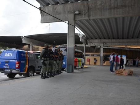 Operação TI Seguro chega à Estação do Barro