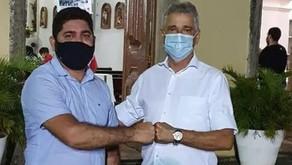 Daniel Alves e José Carlos se reencontram em Muribeca dos Guararapes