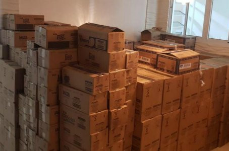 PM recupera mais de 5 mil barras de chocolate e 1,2 mil caixas de bombons em Olinda