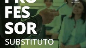 IFPE contrata professor substituto em caráter temporário