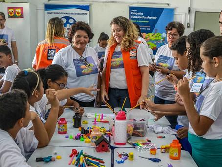 Defesa Civil do Jaboatão ganha prêmio nacional por ações na prevenção de desastres