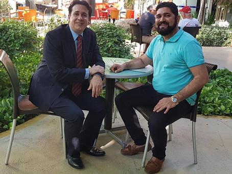 Cláudio Carraly é o coordenador da pré-campanha de Daniel Alves