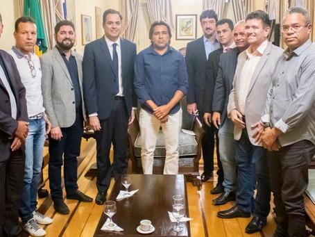 Vereadores do Jaboatão se reúnem com o governador Paulo Câmara