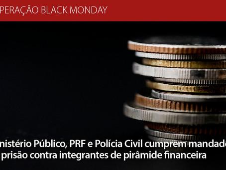 Prisões em cidades pernambucanas para desbaratar esquema de pirâmide financeira