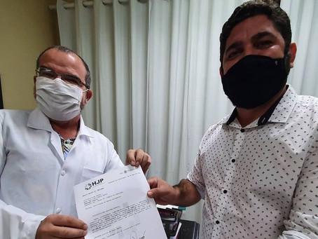 Daniel Alves articulará investimentos no combate à Covid-19 para o Hospital Jaboatão Prazeres