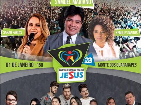 Pastor convoca fiéis para o culto no dia 1º de janeiro em Jaboatão